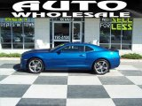 2010 Aqua Blue Metallic Chevrolet Camaro SS/RS Coupe #36193615