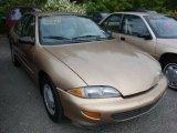 1998 Gold Metallic Chevrolet Cavalier LS Sedan #36193264