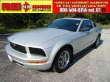 2005 Satin Silver Metallic Ford Mustang V6 Premium Coupe #36194020
