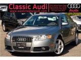 2008 Quartz Grey Metallic Audi A4 2.0T quattro Sedan #36193652