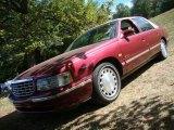 1997 Dark Cherry Red Metallic Cadillac DeVille Sedan #36192888