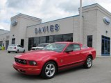 2007 Torch Red Ford Mustang V6 Deluxe Coupe #36193308