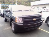 2007 Blue Granite Metallic Chevrolet Silverado 1500 Work Truck Regular Cab 4x4 #36192930