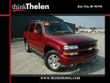 2004 Sport Red Metallic Chevrolet Tahoe LS 4x4 #36194099