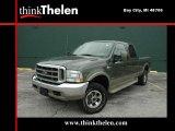 2004 Estate Green Metallic Ford F250 Super Duty King Ranch Crew Cab 4x4 #36194111