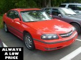 2001 Torch Red Chevrolet Impala LS #36294527