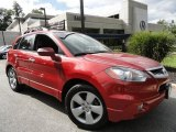 2008 Moroccan Red Pearl Acura RDX  #36294732