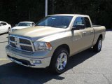 2011 White Gold Dodge Ram 1500 Big Horn Quad Cab #36295164