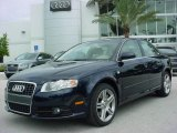 2008 Deep Sea Blue Pearl Effect Audi A4 2.0T Special Edition Sedan #353908