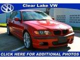 2003 Electric Red BMW 3 Series 330i Sedan #36295270