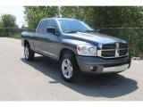 2007 Mineral Gray Metallic Dodge Ram 1500 Laramie Quad Cab 4x4 #36347103