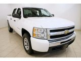2009 Summit White Chevrolet Silverado 1500 LT Crew Cab 4x4 #36347611
