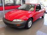 1999 Bright Red Chevrolet Cavalier Coupe #36347627