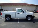 2011 Summit White Chevrolet Silverado 1500 Regular Cab 4x4 #36347429