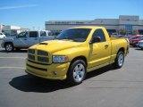 2004 Solar Yellow Dodge Ram 1500 SLT Rumble Bee Regular Cab #36347466