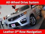 2011 Bright Silver Kia Sorento SX V6 AWD #36347188