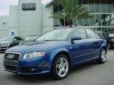 2008 Ocean Blue Pearl Effect Audi A4 2.0T Special Edition Sedan #353905
