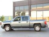 2007 Blue Granite Metallic Chevrolet Silverado 1500 LT Crew Cab 4x4 #36347519