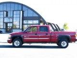 2005 Sport Red Metallic GMC Sierra 2500HD SLT Crew Cab 4x4 #36347524