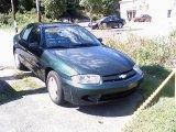 2003 Dark Green Metallic Chevrolet Cavalier Sedan #36347008