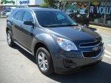 2010 Cyber Gray Metallic Chevrolet Equinox LT AWD #36347273