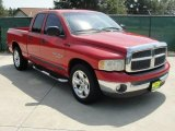 2002 Flame Red Dodge Ram 1500 SLT Quad Cab #36347278