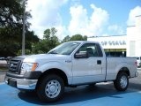 2010 Ingot Silver Metallic Ford F150 XL Regular Cab #36406278