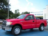 2010 Vermillion Red Ford F150 XL Regular Cab #36406280