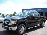 2010 Tuxedo Black Ford F150 XLT SuperCrew 4x4 #36406285
