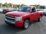 2011 Victory Red Chevrolet Silverado 1500 LS Regular Cab #36406902
