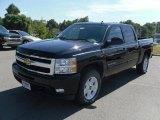 2011 Black Chevrolet Silverado 1500 LTZ Crew Cab 4x4 #36406904