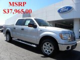 2010 Ingot Silver Metallic Ford F150 XLT SuperCrew #36406338