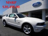 2011 Performance White Ford Mustang GT Coupe #36406339