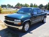 2002 Forest Green Metallic Chevrolet Silverado 1500 LS Extended Cab #36406919