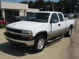 1999 Summit White Chevrolet Silverado 1500 LS Extended Cab 4x4 #36406626