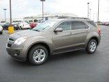 2010 Mocha Steel Metallic Chevrolet Equinox LT #36406632
