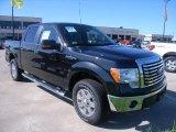2010 Tuxedo Black Ford F150 XLT SuperCrew 4x4 #36406955