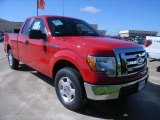 2010 Vermillion Red Ford F150 XLT SuperCab #36406958