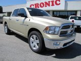 2011 White Gold Dodge Ram 1500 Big Horn Crew Cab #36406398