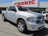 2011 Bright Silver Metallic Dodge Ram 1500 Big Horn Quad Cab #36406399
