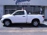 2007 Super White Toyota Tundra Regular Cab #36406680