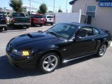 2002 Black Ford Mustang GT Coupe #36406692