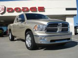 2011 White Gold Dodge Ram 1500 Big Horn Crew Cab #36406721
