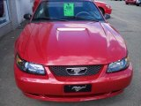 2001 Performance Red Ford Mustang V6 Coupe #36406172