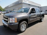 2010 Black Granite Metallic Chevrolet Silverado 1500 LT Crew Cab 4x4 #36406175