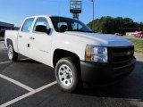 2011 Summit White Chevrolet Silverado 1500 Crew Cab #36406464