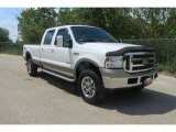 2005 Oxford White Ford F350 Super Duty King Ranch Crew Cab 4x4 #36406224