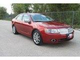 2007 Vivid Red Metallic Lincoln MKZ Sedan #36406225