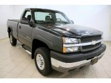 2003 Dark Gray Metallic Chevrolet Silverado 2500HD LS Regular Cab 4x4 #36406821