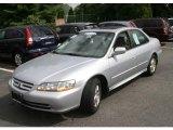 2002 Satin Silver Metallic Honda Accord EX V6 Sedan #36406243